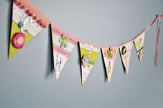 scrapbook banner ideas | Creative Spaces: May/June 2010 Banner | May/June 2010 | Creating ...