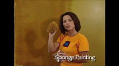 How-To Faux Finish Step Instruction - Sponge Painting with Sea Sponge by...