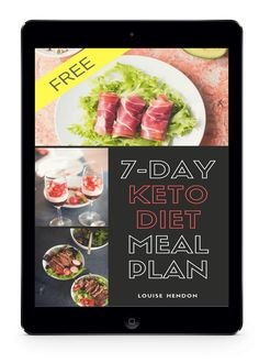 7-Day Keto Meal Plan Ipad