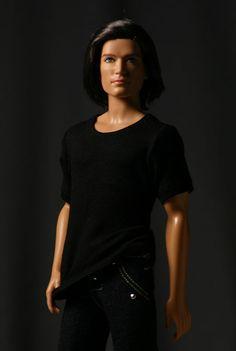 Ken T-shirt: It's a slinky, short-sleeved T-shirt. (Ken clothes)