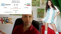 Agentina Iran 1-0 Messi Gol Miracolo - Commento Mondiali 2014