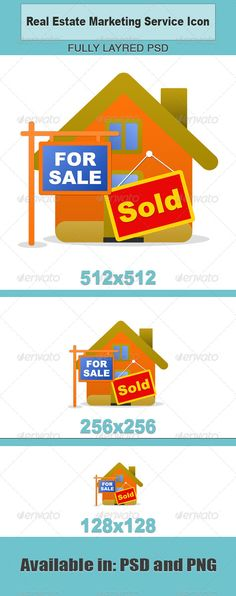 39 best business icons templates images on pinterest for Real estate design software