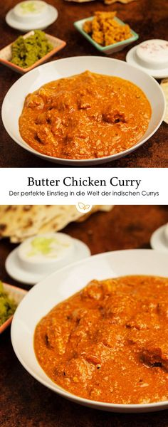 Simple Recipe for Aromatic Butter Chicken Curry (Chic .- Simple recipe for aromatic butter chicken curry (Chicken Makhani, Murgh Makhani). The perfect introduction to the world of Indian curries. Crock Pot Recipes, Healthy Chicken Recipes, Casserole Recipes, Enchilada Casserole, Chicken Makhani, Chicken Masala, Chicken Tikka, Butter Chicken Curry, Butter