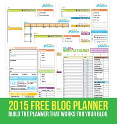 Blogging Tips | How to Blog |  Free printable blog planner from A Well Crafted Party & PDXBloggers.com