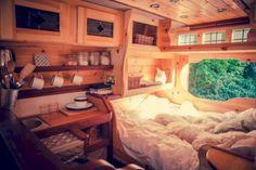 Stunning Camper Van Interior 123 Ideas