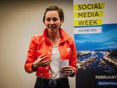 Zweite Social Media Week Hamburg: mit Bravour beendet - als Medienereignis etabliert. Keynote von Catherine Barba. #SMWHH