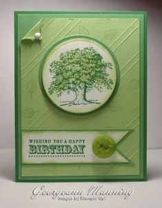 A Birthday Tree for Him by paperprincess1973 - Cards and Paper Crafts at Splitcoaststampers