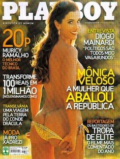 Playboy Brazil October 2007 Cover featured by Mônica Veloso