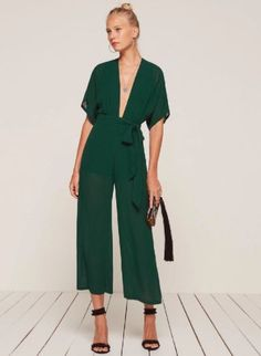 fall bridesmaid jumpsuit, emerald green jumpsuit, bridesmaid jumpsuit