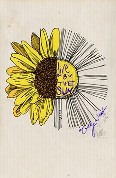 Live By the Sun Art Print