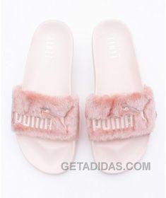 fecf2e762cc PUMA X RIHANNA LEADCAT FENTY Sandal Pink Fur Slide Top Deals