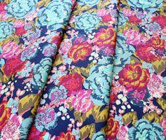 Art Gallery Fabrics Boho Fusion Acqua Di Rose Boho