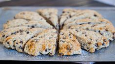 Slimmed Down Chocolate Chip Buttermilk Scones for only 160 calories a scone, you can't beat that.