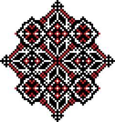 Геометричні візерунки для вишивки хрестиком / Узоры для вышивки крестиком / Ukrainian cross stitch patterns