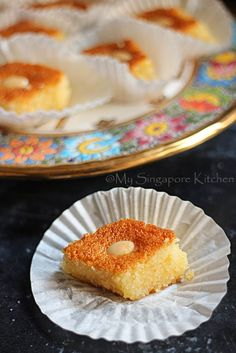 My Singapore Kitchen........: Basbousa