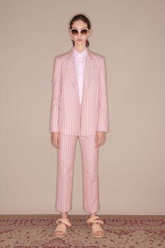 Tailored Jacket | Sleeveless Bow Shirt | Side Opening Pant