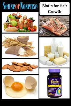 Biotin provides proteins and supplements to damaged hair and facilitates hair growth