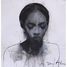 Mark Demsteader Shots2 Medium Portraits, Portrait Art, Ink Illustrations, Illustration Art, Mark Demsteader, Acrylic Portrait Painting, Pretty Drawings, Afro Art, Human Art