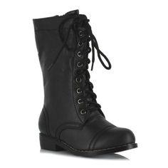Ellie Shoes Kids Superhero Mid Calf Black Lace Up Combat Boots Medium Ellie Shoes,http://www.amazon.com/dp/B008HU0FNW/ref=cm_sw_r_pi_dp_QkOJrb1J9N4MDJRV