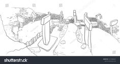 Göbeklitepe Turkish for Potbelly Hill is an archaeological site in the Southeastern Anatolia Region of Turkey approximately 12 km 7 mi northeast of the city of Şanlıurfa. Archaeological Site, Pre School, Preschool Activities, Archaeology, Drawings, Architecture, Sketches, Drawing, Portrait