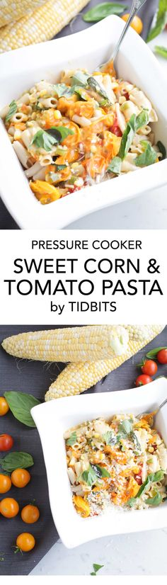 Sweet Corn and Tomat