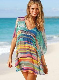 Want a fun beach coverup like this