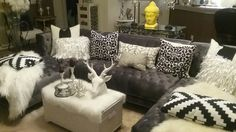 Wayfair Paulene Sectional looks gorgeous in my living room.