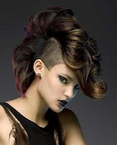 179 Best Edgy High Fashion Hair Styles images | Short haircuts ...