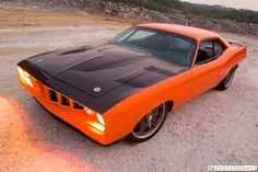 It's particularly irresistible when applied to the top of the muscle car food chain, the Plymouth Hemi 'Cuda.