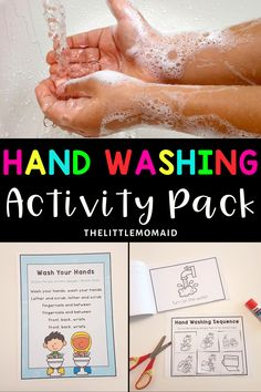 Teach your students the healthy habit of proper hand washing with this fun and engaging hand washing activities pack.  This resource includes a poster, songs, two readers, sequencing activities, and crafts.  #backtoschool #handwashing #kindergartenactivities #preschoolactivities Classroom Posters, Primary Classroom, Kindergarten Teachers, Elementary Teacher, Kindergarten Activities, Preschool Activities, Elementary Education, Classroom Decor, Back To School Activities