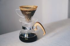 Our beautiful KONO sakura wood handles http://kurasu.me/collections/filter/products/kono-coffee-dripper-set-sakura-wood