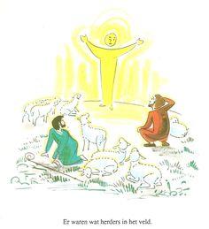 er waren wat herders in het veld blz19