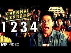 One Two Three Four Chennai Express Song | Shahrukh Khan, Deepika Padukone