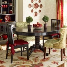 Ronan Dining Chair - Rubbed Black - Pier1 US