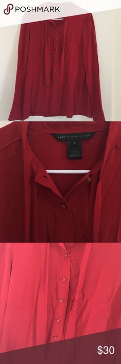 Beautiful MARC JACOBS Michaela silk blouse Stunning top!! Retails at $278 Marc by Marc Jacobs Tops Blouses