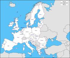 Mondo Centrato Europa Africa Mappa Gratuita Mappa Muta Gratuita