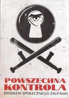 powszechna kontrola Polish Posters, Scary Funny, Vintage Graphic Design, Illustrations And Posters, Good Old Times, Vintage Posters, Christmas Diy, Revolution, Nostalgia