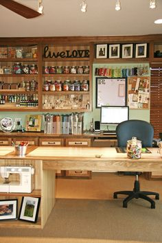 The ultimate Craft Room!  My dream....LOL