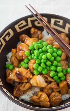 Pan-fry a Teriyaki Chicken Bowl Recipe for an Easy Lunch