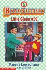 """A children's St. Patrick's Day novel: #59: """"Karen's Leprechaun"""""""