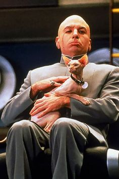 Dr. Evil & Mr. Bigglesworth