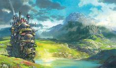 Howl's moving castel, #miyazaki