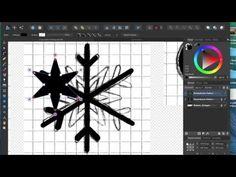 X-mass Pattern mit Affinity Designer Tutorial 2/3