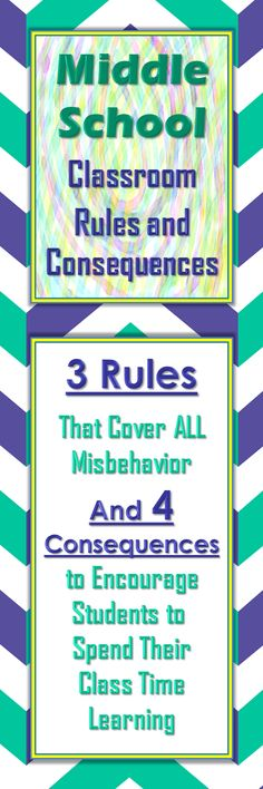 Helpful blog post about three simple classroom rules and ideas about how to enforce them