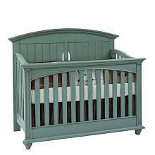 Baby Cache Emerald Inn Lifetime Crib - Sea Mist;hubby already agreed this will be baby #2's crib!