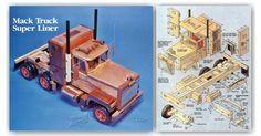 Wooden Truck Plans - Wooden Toy Plans and Projects | WoodArchivist.com
