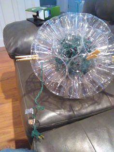 A DIY Sparkle Ball Light - These Are Awesome!