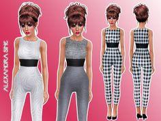 Skylar's Jumpsuit by Alexandra - Sims 3 Downloads CC Caboodle