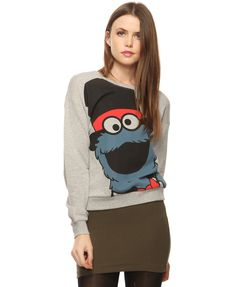 Cookie Monster is cool.