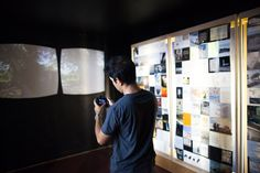 tech/candid: VR x Art: One and Three Parallax Views by Mike Saijo, AES Power Plant